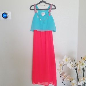 Rare edition girls dress with necklace